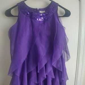 Girls Frilly Party Dress
